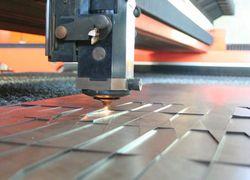 máquina de corte a laser chapa