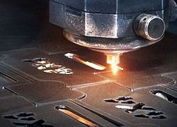 máquina de recorte a laser