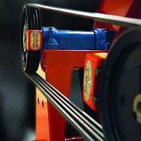 Alinhador de polias a laser