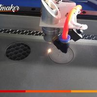 Máquina de corte a laser para borracha