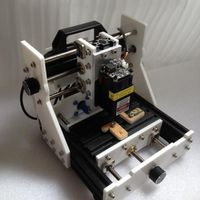 Máquina gravação a laser faca