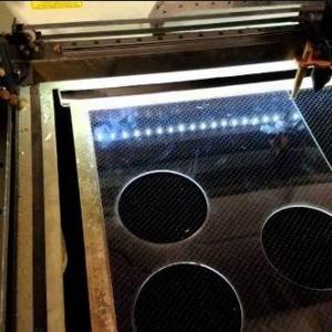 Serviço de corte a laser em acrílico